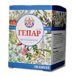 Растительный фитокомплекс для очищения организма от шлаков, токсинов, паразитов «Гепар Актив»