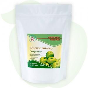 «Фибропект» яблоко. Низкокалорийный напиток для очищения организма