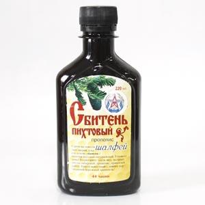 """Натуральный низкокалорийный сироп для приготовления полезных напитков """"Сбитень пихтовый с шалфеем"""""""